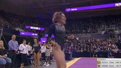 Así ha sido el nuevo ejercicio perfecto de la gimnasta Katelyn Ohashi