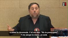 Junqueras explica desde prisión el 'no te preocupes' del Presidente