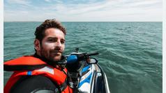 Récord Guinness en moto de agua sin apoyo