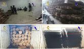 Imágenes facilitadas por la Guardia Civil y la Agencia Tributaria del...