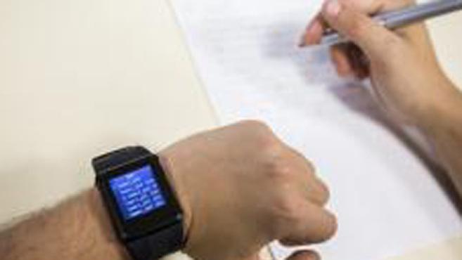 d8404aab5aaf Un reloj (chuleta) para sacar nota