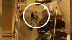 Detenido un hombre por dar una brutal paliza a su pareja en plena calle en San Fernando de Henares
