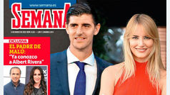 Thibaut Courtois, portero del Real Madrid, sale con Alba Carrillo