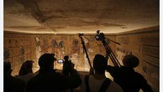 El faraón Tutankamón estrena respiración asistida