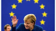 """""""El nacionalismo y egoismo ya no debería tener lugar en Europa"""", Angela Merkel"""