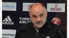 Pablo Laso no acepta la ultima jugada de la Copa del Rey de baloncesto como un error humano