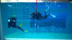 Marepolis abre en Madrid la piscina más profunda para bucear