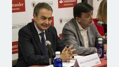 """Zapatero a Casado: """"No sería bueno para el PP un retroceso en materia de ideas"""""""