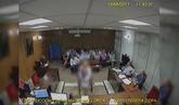 Declaración de la testigo que contó ante el juez cómo miembros del...