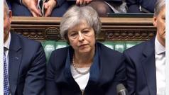 El Brexit de Theresa May se estrella en el Parlamento