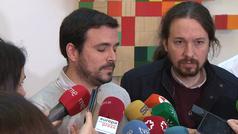 Garzón explica que Llamazares puede ser expulsado de IU
