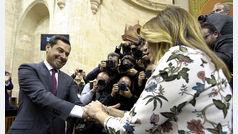 """Juanma Moreno se compromete a romper con el """"estilo de confrontación permanente"""""""