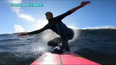 La francesa Justine Dupont podría haber surfeado la ola más grande de la historia del surf femenino