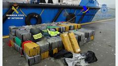 Once detenidos con 3.300 kilos de cocaína de una organización que introducía la droga en España