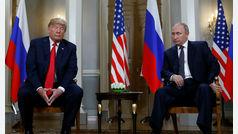 """Primera reunión bilateral entre Trump y Putin: """"Llevarse bien con Rusia no es algo malo"""""""