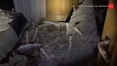 Un rayo provoca el derrumbamiento en una casa en Madrid