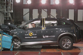 Prueba de impacto del Hyundai Nexo