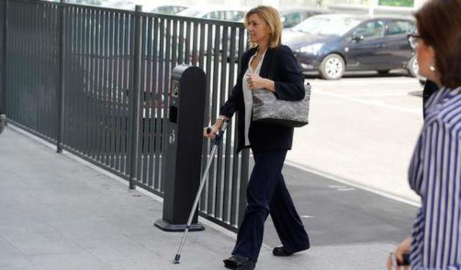La Audiencia de Toledo archiva la causa por la mordida de 200.000 euros para Cospedal denunciada por Bárcenas