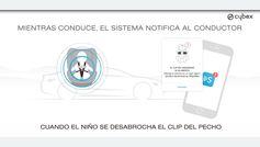Cybex Sensorsafe: para que los niños no se escapen de la sillita y se queden en el coche