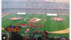Pitos al himno en el final de la Copa del Rey