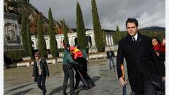 Seguidores de Franco acuden al Valle de los Caídos a rendirle homenaje por el aniversario de su muerte