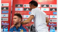 """Sergio Ramos: """"Cuando el Bernabéu te da un toque es por algo"""""""