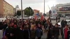 Manifestantes amenazan a votantes de Vox en Murcia