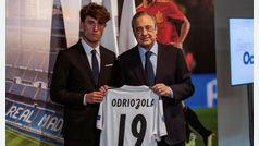 """Odriozola: """"Sé que al vestir la camiseta del Real Madrid lo único que vale es ganar"""""""