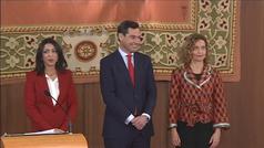 Moreno Bonilla toma posesión de la Junta de Andalucía