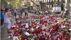 Las víctimas de los atentados de Barcelona y Cambrils