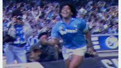 Gol de Maradona con el Nápoles al AC Milán (Serie A 1987)