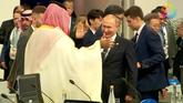 La gran complicidad de Vladimir Putin y el príncipe heredero de...