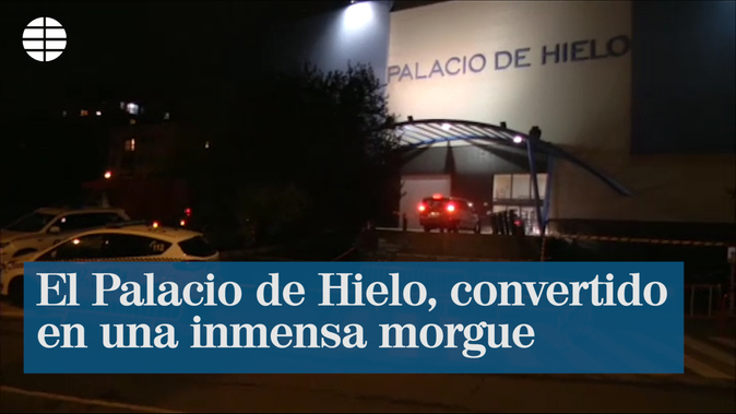 La Comunidad de Madrid habilita el Palacio de Hielo para almacenar ...