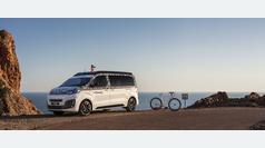 Citroën The Citroënist: caravana y bici aventureras