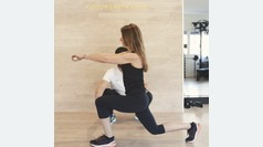 Rutina de piernas y glúteos en Cool Health Club