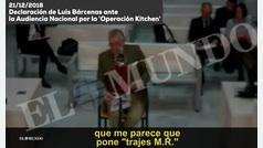 EXCLUSIVA: Declaración de Bárcenas ante la Audiencia Nacional por la 'Operación Kitchen'