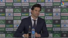 Solari: 'El equipo lo conforman los que juegan y los que no juegan'