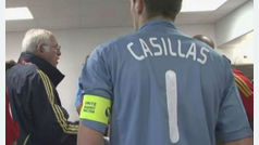 Emotivo homenaje a Luis Aragonés de la Real Federación Española de Fútbol