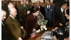 España después de la guerra: el franquismo en color