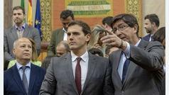 PP y Cs perfilan ya su acuerdo para gobernar en Andalucía