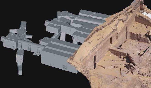 Los ?superarquitectos? de los faraones: excavaron tumbas a distancia de 10 centímetros