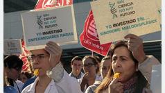 Investigadores del Hospital la Fe denuncian su precariedad