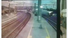 Así descarriló el tren en Taiwan que deja 18 muertos