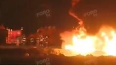 Una veintena de muertos al explotar una toma clandestina de gasolina en México