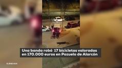 Así robaron 170.000 euros en bicicletas en Pozuelo de Alarcón