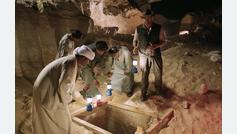 Egipto convierte la apertura de un sarcófago en un espectáculo de televisión en directo