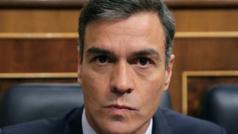 """Sánchez: Iglesias es """"dogmático"""", Casado carece de """"sentido de Estado"""" y Rivera es """"irresponsable"""""""
