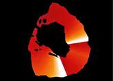 Ondas de lava en la superficie de Ío