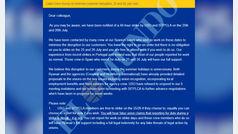 Ryanair presiona a sus tripulantes con un email ilegal para saber si harán huelga o no
