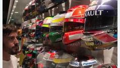 Con este emotivo vídeo, Alonso abandona la Fórmula 1